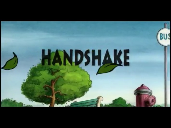 Handshake, Animation by Patrcik Smith