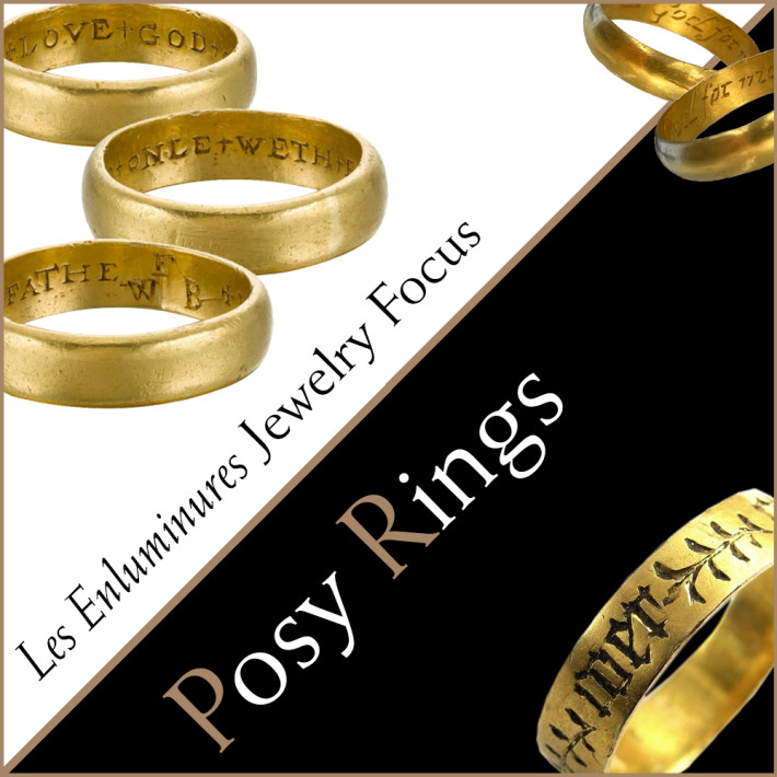 Les Enluminures Jewelry Focus: Posy Rings