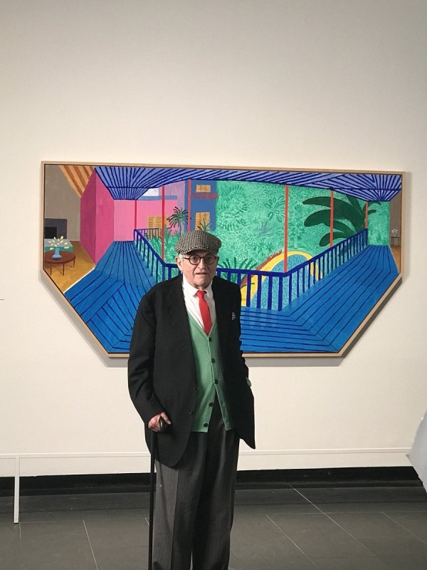 Hockney at the Met New York
