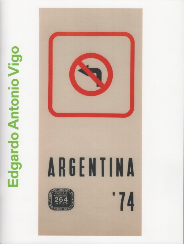 Edgardo Antonio Vigo: A Collection Argentina '74