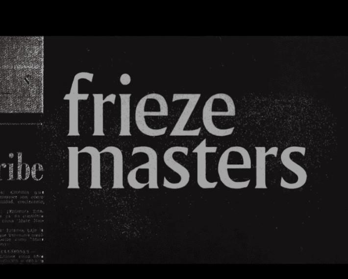 Creation From Destruction , Frieze Masters 2020 | 7 October - 7 November 2020
