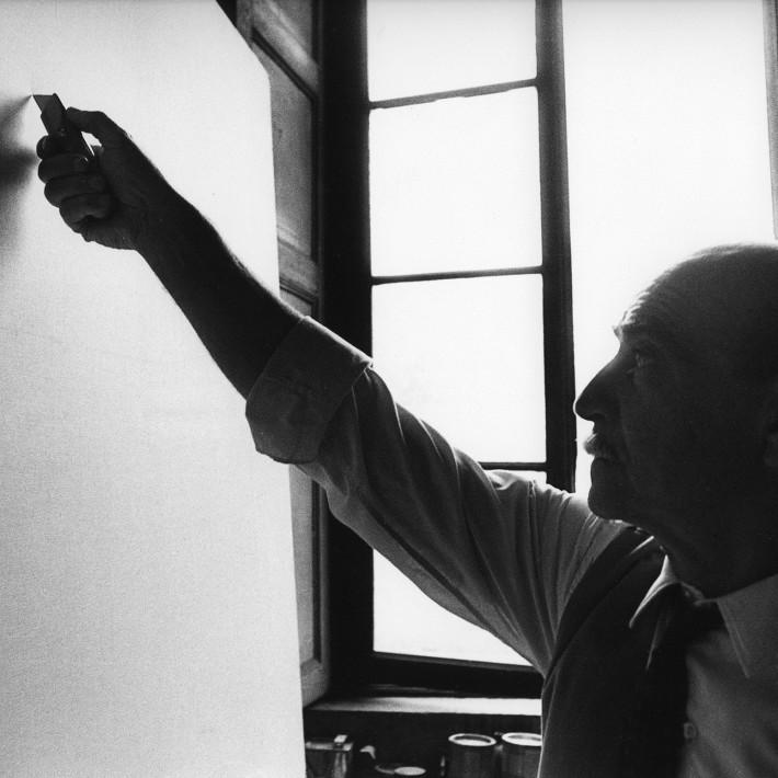The White Slash, Lucio Fontana and the Sublime