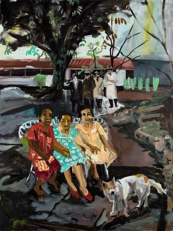 Maia Cruz Palileo, The Blind Farm Dog, 2014