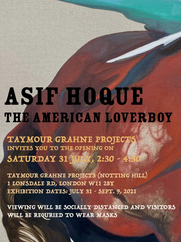 TGP NOTTING HILL: Asif Hoque - The American Loverboy