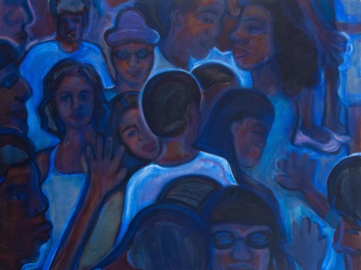 Madelynn Green, Untitled (Blues), 2020