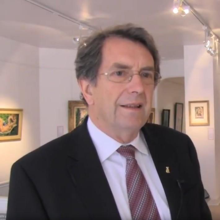 Adrian Mibus interviewed about Australian Art by ABC Australia (2013)