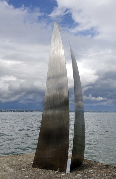 Harmonie, 2007, Polished stainless steel, Edition of 3, H: 290cm