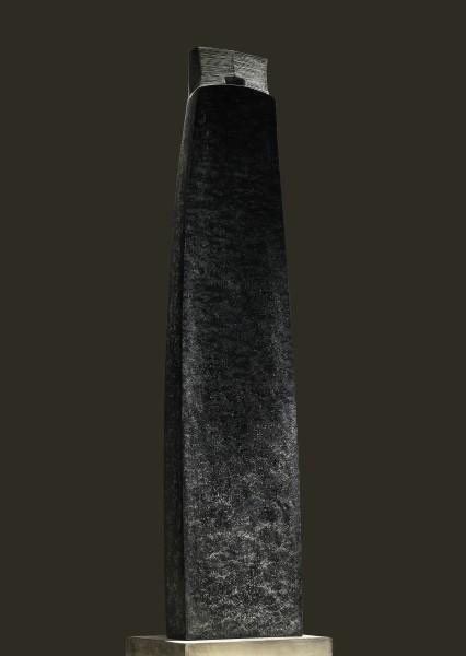 Demetra, 2008, Diabase, 122 x 28 x 13 cm