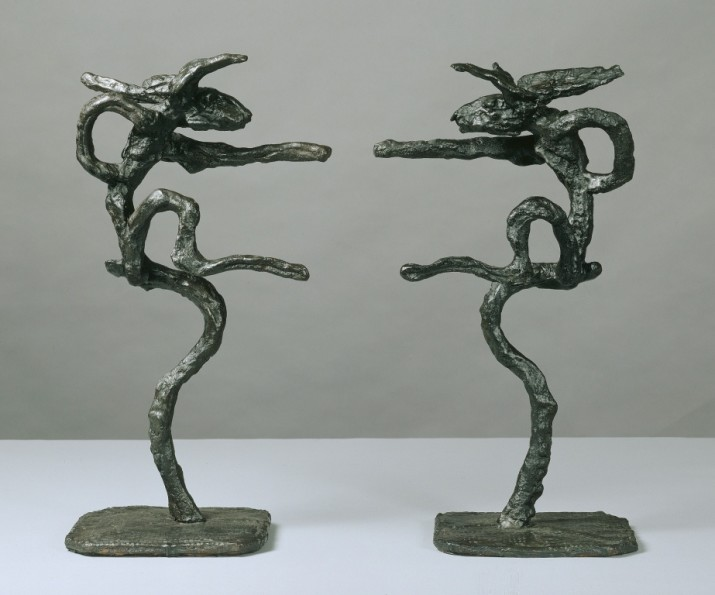 Small Mirrored Nijinski, 2004, Bronze, Weight: 13.6 & 14.5 Kg (30 & 32lbs), Copy number 5 from an edition of 8 plus 3 artist's casts, 63.5 x 81.3 x 22.9 cm