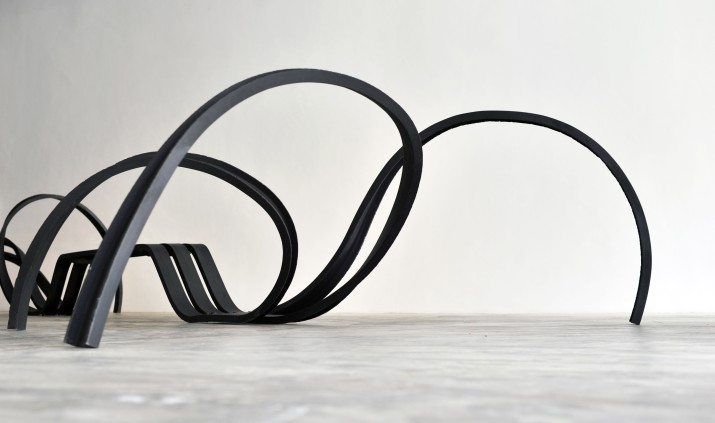 Spider Bench, 2011, Painted Steel, 577 x 220 x 95 cm, Edition of 8 + 4AP