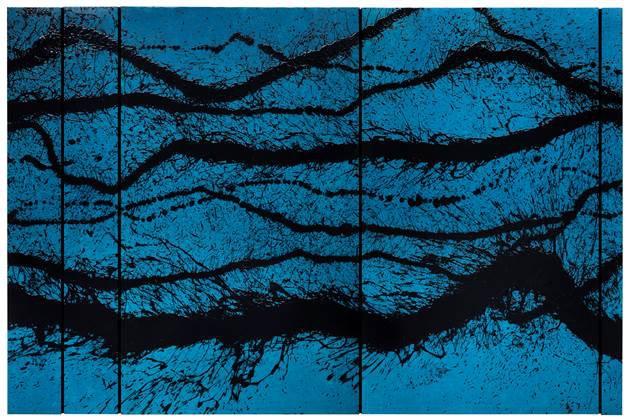 """<span class=""""artist""""><strong>Fabienne Verdier</strong></span>, <span class=""""title""""><em>Peinture du 9 septembre</em>, 2014</span>"""