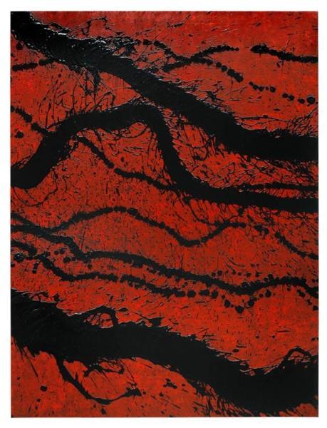 "<span class=""artist""><strong>Fabienne Verdier</strong></span>, <span class=""title""><em>Peinture du 25 Août</em>, 2014</span>"