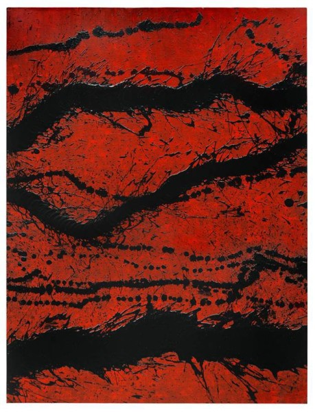 "<span class=""artist""><strong>Fabienne Verdier</strong></span>, <span class=""title""><em>Peinture du 27 Août</em>, 2014</span>"