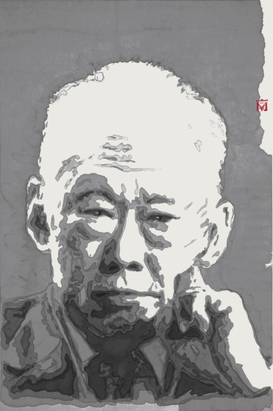 "<span class=""artist""><strong>Nan Qi</strong></span>, <span class=""title""><em>Lee Kuan Yew: Thinker B</em>, 2014</span>"