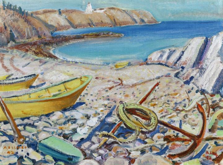 Arthur Lismer, C.C., LL.D., R.C.A., O.S.A., Beach in New Brunswick, 1942