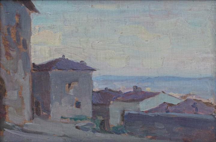 Clarence A. Gagnon, R.C.A., Italie, 1905-1911 (circa)