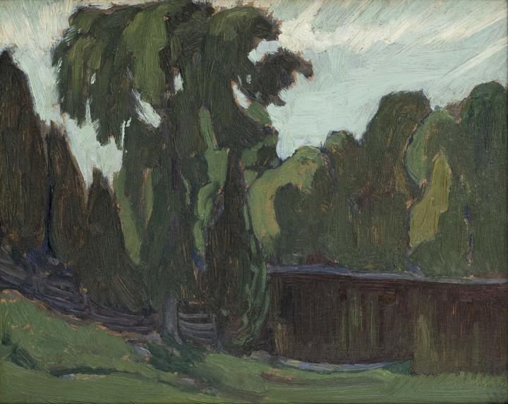 J.E.H. MacDonald, R.C.A., O.S.A., Shady Greens, Gull River, 1923
