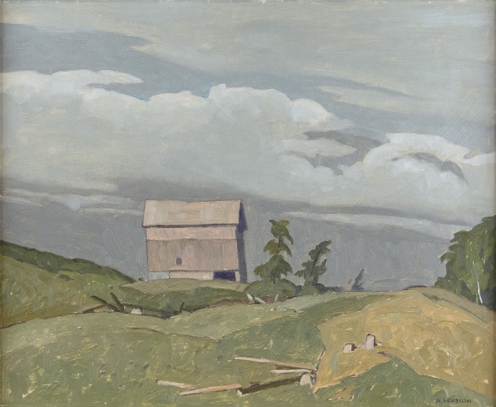 A.J. Casson, C.M., O.Ont., LL.D., R.C.A., Farm at Fairmount, 1972