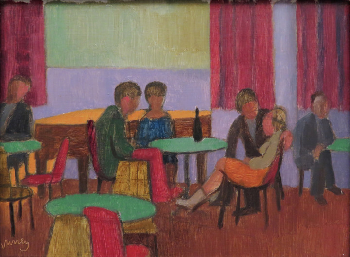 Philip Surrey, C.M., LL.D., R.C.A., Le Restaurant, 1965 (circa)