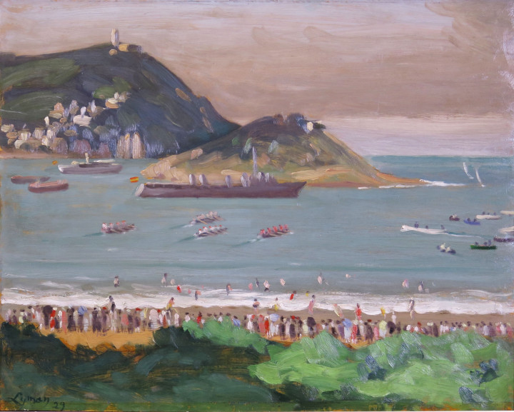 John Lyman, F.R.S.A., Regatta at San-Sebastian, 1929