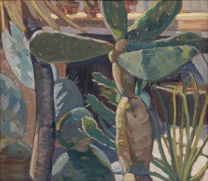 Nora Collyer, Plant Forms with Cactus, 1935 (circa)