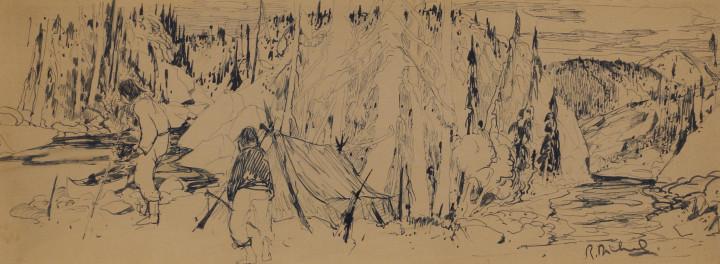 René Richard, Trappeurs dans le Nord