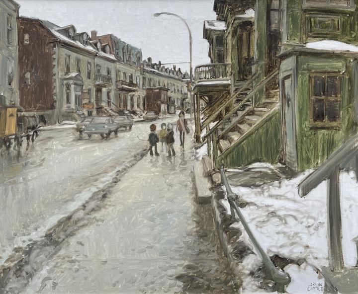 John Little, St. Antoine Street at Fulford, St. Henri, Montreal, 1972