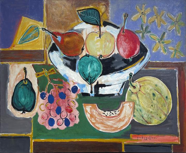 Paul Vanier Beaulieu Nature morte, 1955 Oil on canvas 28 3/4 x 36 1/4 in 73 x 92.1 cm