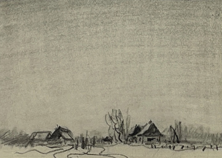 Frederick Simpson Coburn, Homestead in Winter, Eastern Townships, Quebec
