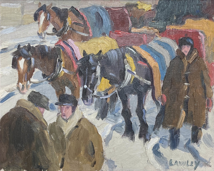 Douglas Lawley, Calèches at Mount Royal
