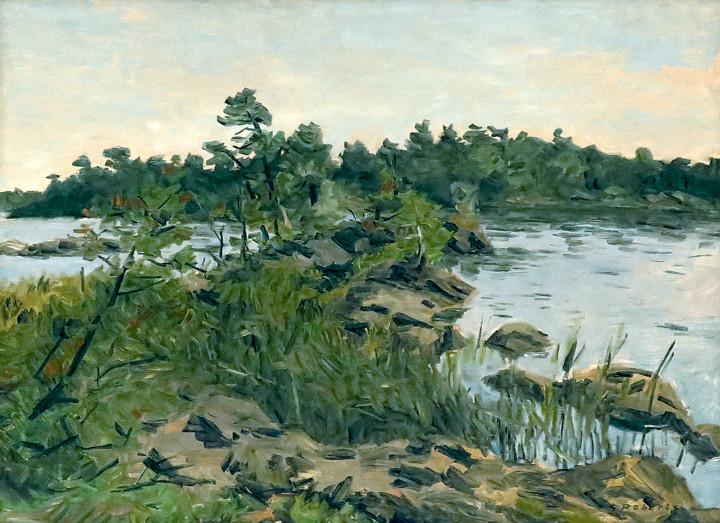 Goodridge Roberts, LL.D, R.C.A., O.S.A., Georgian Bay