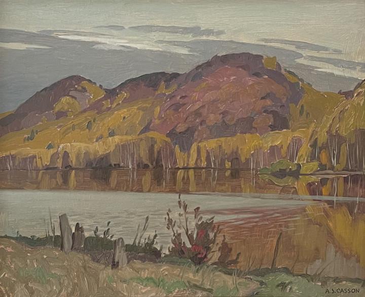A.J. Casson, Dark Day, Halfway Lake, 1959