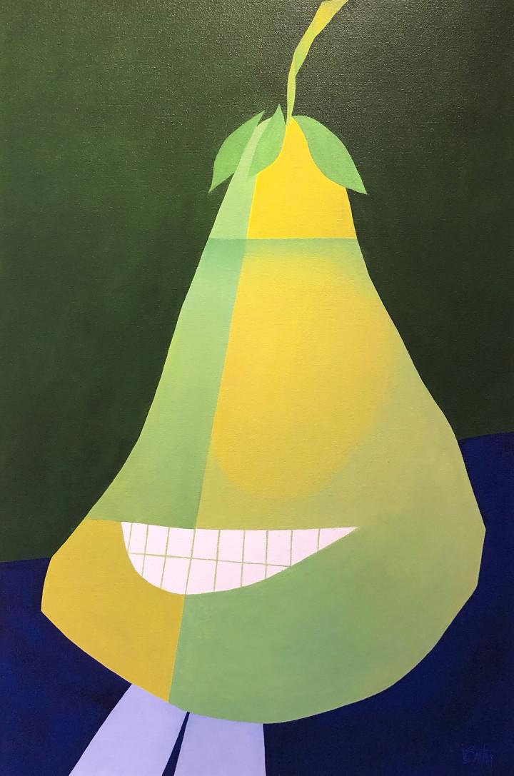 Claude Le Sauteur La parodie - Parody, 2005 Oil on canvas - huile sur toile 36 x 24 in 91.4 x 61 cm