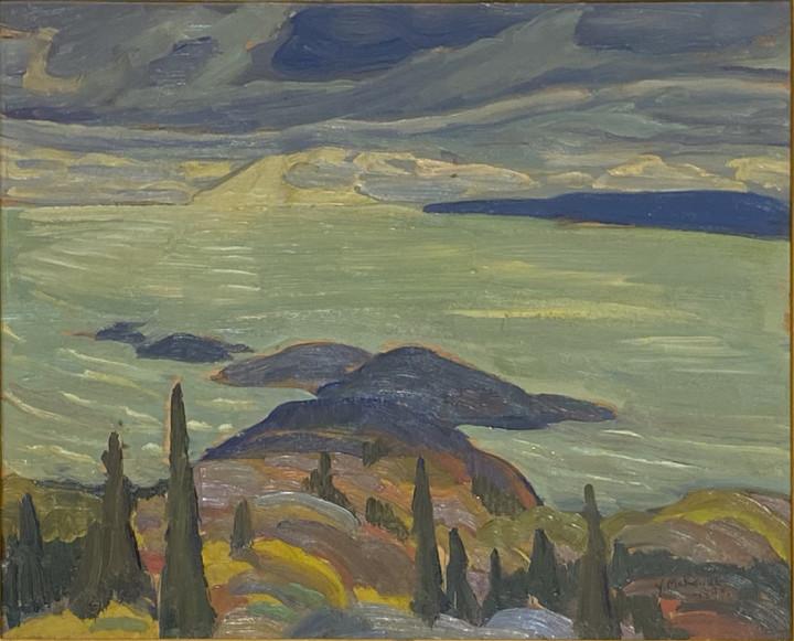 Yvonne McKague Housser, Lake Superior, 1928