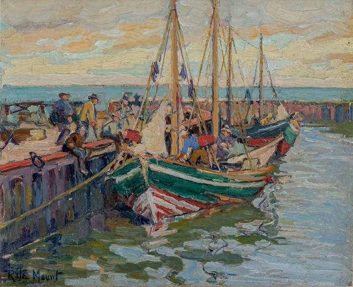 Rita Mount Gaspé, 1930 (circa) Oil on canvas board 9 x 11 in 22.9 x 27.9 cm