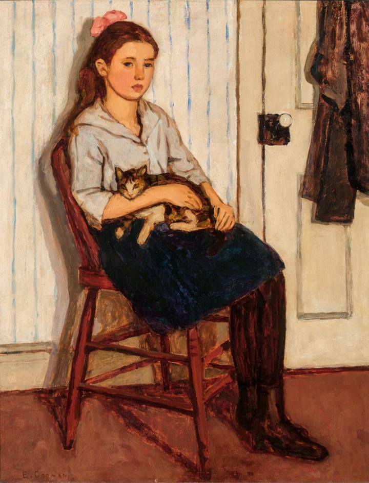 <span class=%22title%22>Girl and Cat - Jeune fille et chat<span class=%22title_comma%22>, </span></span><span class=%22year%22>1920</span>