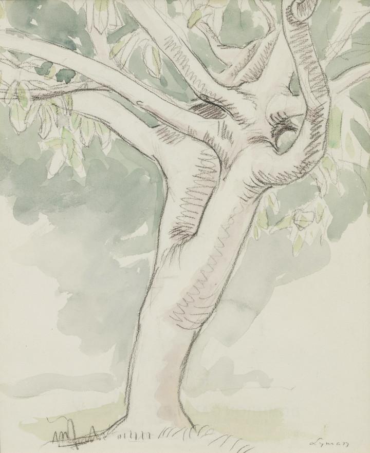 John Lyman Bermuda, 1919 Watercolour on paper 11 x 9 in 27.9 x 22.9 cm