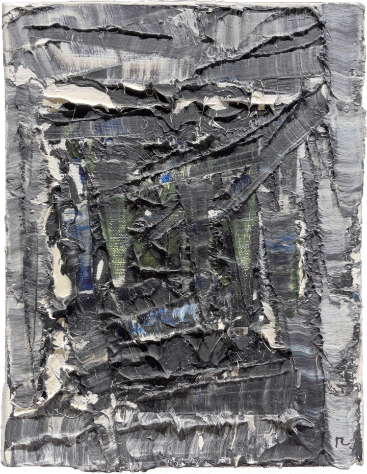 Jean Paul Riopelle Untitled (PM44), 1978 Oil on canvas 9 1/2 x 7 1/2 in 24.1 x 19.1 cm This painting is included in the Jean Paul Riopelle Catalogue Raisonné complied by Yseult Riopelle, Vol. 5: p. 286.