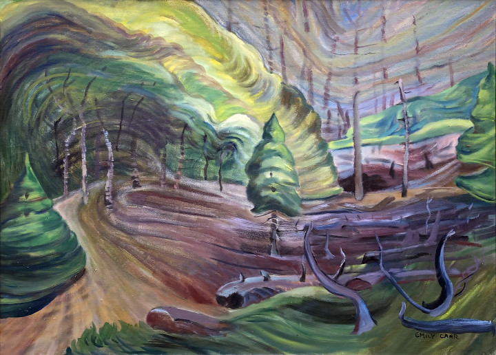 Emily Carr The Bounce of Spring, 1936-1937 (circa) Oil on canvas 24 x 33 in 61 x 83.8 cm