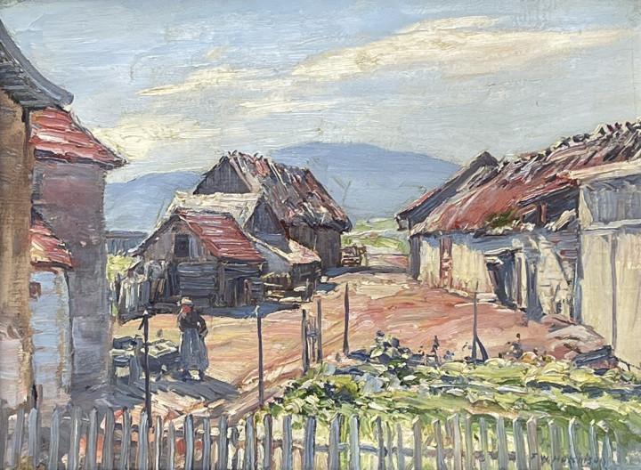 Frederick W. Hutchison, Barns, Baie St. Paul, 1927