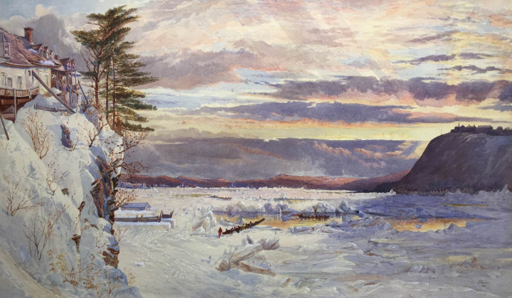 <span class=%22title%22>Crossing the Ice from Pointe Lévis to Quebec - Traversée de la glace de Pointe Lévis à Québec<span class=%22title_comma%22>, </span></span><span class=%22year%22>1866 (Spring)</span>