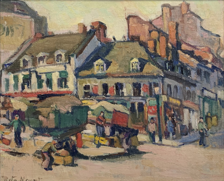 Rita Mount Bonsecours Market 8 1/2 x 10 1/2 in 21.6 x 26.7 cm
