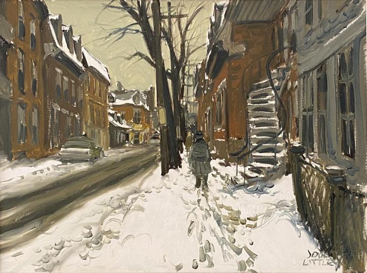 John Little, Rue de la Gauchetière (d'autrefois), Montréal, 1967 (circa)