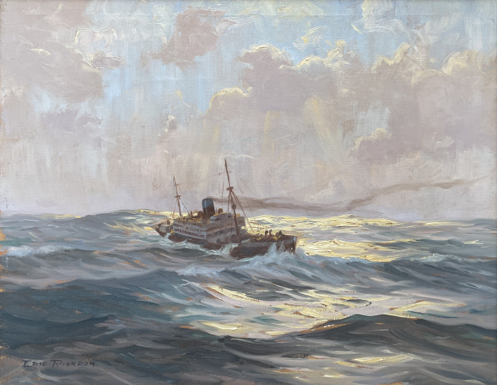 Eric Riordon After the Storm, 1944 (circa) Oil on canvas 16 x 20 in 40.6 x 50.8 cm