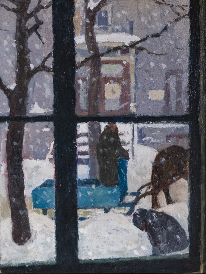 Edwin Holgate From the Studio Window, 1934 (circa) Oil on panel 10 3/4 x 8 1/2 in 27.3 x 21.6 cm
