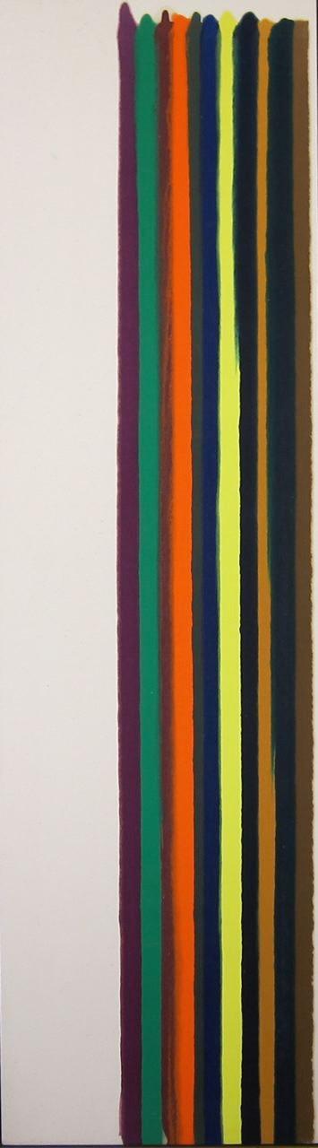 Morris Louis Number 8, 1962
