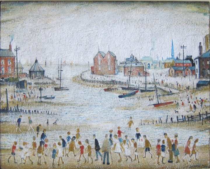 Laurence Stephen Lowry The Estuary, 1944