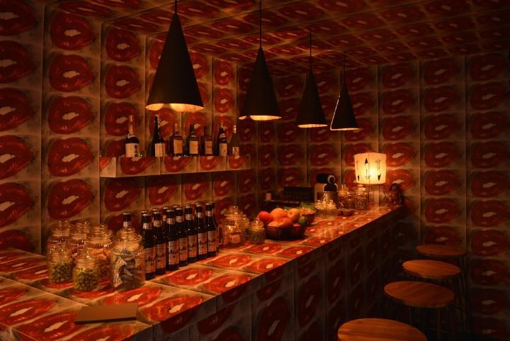 Selfridges, London launches the 'Lip Bar' by legendary Japanese artist Daido Moriyama to mark Valentine's Day