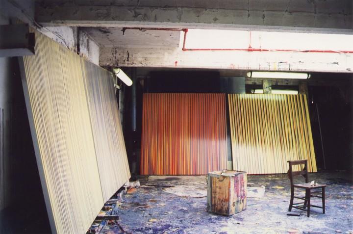 The artist's studio, 1993