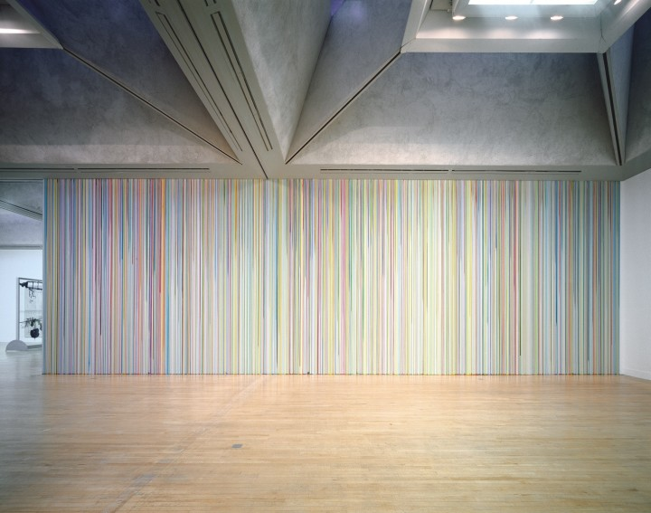Untitled Poured Lines (Tate Britain) , 2003